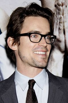 Matt Bomer and my husband have the same awesome hair
