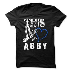 #Funnytshirt... Awesome T-shirts  Price :$19.00Purchase Now    Low cost Codes   View photographs & pictures of This Girl Love Abby - Cool T-Shirt !!! t-shirts & hoodies:When you don't completely love our design, you possibly can SEARCH your favourite one through ...