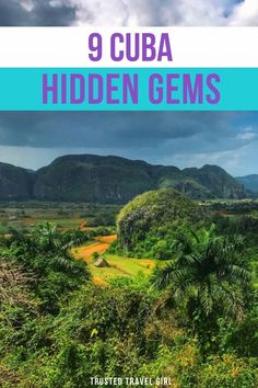 9 Cuba Hidden Gems. During the extent of a fifty-four-year embargo, Cuba has remained a mystery to the American public, yet with the recent move to re-establish relations with the US, curiosity seekers can now see what the country really has to offer. Here's the 9 Cuba Hidden gems that tourists don't know about. Cuba Travel Guide | Havana Cuba Travel | Cuba Travel Tips | Things to do in Cuba Travel | Amazing Destinations, Travel Destinations, Travel Guides, Travel Tips, Cuba Itinerary, Visit Cuba, Cuba Travel, Havana Cuba, Travel Articles