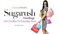Upto 20% off on Sugarush Handbags. Arm candy for everyday divas. A colourful selection of handbags, totes, satchels, shoulder bags, slings & wallets to brighten up your look. http://www.couponcenter.in/coupons/amazon-india