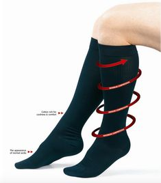 Flysafe Socks Fly Safe with our graduated compression socks help preven… – travel outfit plane long flights Shooting Clothing, Fly Safe, Flight Socks, Aching Legs, Country Outfits, Traveling By Yourself, Clothes For Women, Casual, How To Wear