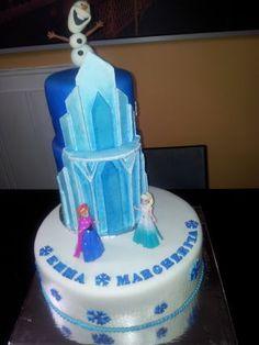 Frozen Cake On Pinterest Frozen Castle Cake Frozen Cake