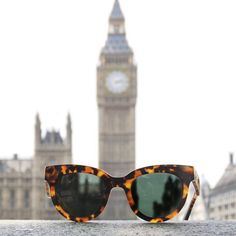 Thank you @the.simone for this great pic of our Havana Olivia Shades in London! Get yours at TRIWA.com!