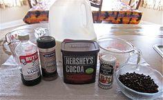 Homemade Crock pot Hot Chocolate