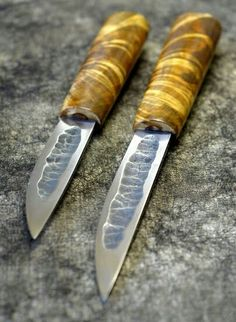 Yakut Knives also known as bykhakh (traditional Siberian hunting / utility knives)