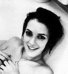 Winona Ryder in the tub, by Anton Corbijn.