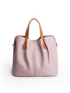 Shop Top Handles - Casual Zipper Medium Cowhide Leather Top Handle online. Discover unique designers fashion at StyleWe.com.