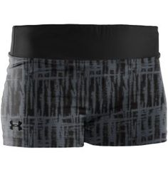 Under Armour Womens Sonic Printed Compression Shorts -