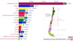 Chile | População de 1940 a 2020 Antartica Chilena, 1940, Map, Lakes, Geography, Location Map, Maps