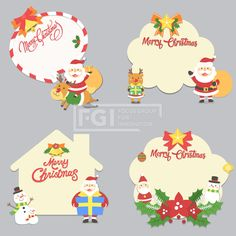 Merry Christmas, Xmas, Cute Illustration, Diy And Crafts, Hello Kitty, Christmas Decorations, Santa, Snoopy, Seasons