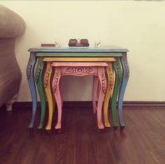 Top 9 Choices in Modern Coffee Tables - Life ideas Lucite Coffee Tables, Stone Coffee Table, Modern Coffee Tables, Art Furniture, Furniture Makeover, Painted Furniture, Living Room End Tables, Upcycled Home Decor, Decorating Coffee Tables