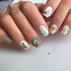 Chic Nail Art, Chic Nails, Stylish Nails, May Nails, Hair And Nails, Subtle Nail Art, Cute Spring Nails, Space Nails, Modern Nails