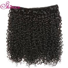 Brazilian Kinky Curly Hair Bundles 100% Remy Brazillian Hair Weave 3 Bundles Natural Color deep Curl Human Hair Extensions - 10 10 10 / Natural Color