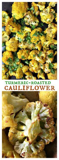 Skinnytaste's Turmeric-Roasted Cauliflower