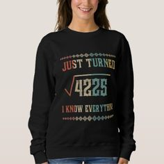 #Birthday Shirt. Math Costume For 65 Years Old. Sweatshirt - #birthday #gifts #giftideas #present #party