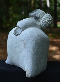 """Beautiful Mamma"" Shona Sculpture. By the artist: Andrew K. Norton. Shona artists are well known for their stone sculptures and are typically called ""Shona"" sculptures. 30% of net profits go back to three Zimbabwean charities."