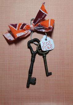 Virginia Tech Hokies Key Play Accessory for by reCollectCrafts, $10.00
