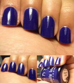 I LOVE NAILS INC! This was one coat! I need an english connection so I can get my hands on more of these! and a little accent sticker =P Nails Inc, Love Nails, Connection, Hands, English, Coat, Sewing Coat, English Language, Peacoats