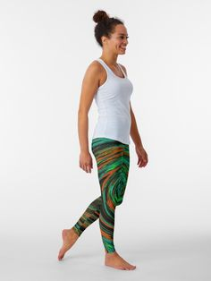 Designer Leggings, Yoga Fitness, Summer Vibe, Spring Summer, Floral Leggings, Green Leggings, Skull Leggings, Leopard Leggings, Colorful Leggings