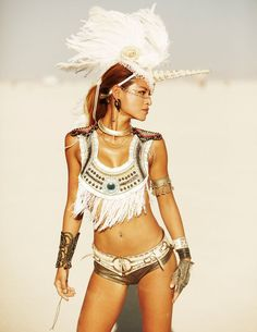 Burning Man Costume - if I wanted to show a lot of skin...