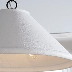 Concrete Cone Chandelier - Shades of Light Chandelier Shades, Wood Dust, Rustic Farmhouse, Concrete, Light Up, Light Fixtures, Bulb, Contemporary