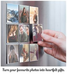 Some photos just need to be printed! Use the Sticky9 App to turn your favourite photos into dazzling Magnets. Brighten up your fridge. Download our App now