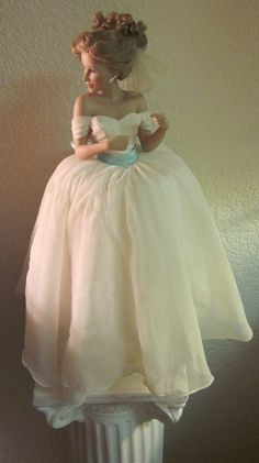 Vintage Ashton Drake Galleries Bride Doll... i just saw someone pin my favorite doll from my childhood! (still have mine) unfortunately, this one is missing her beautiful bouquet-- my favorite part :)