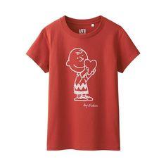 WOMEN Peanuts Short Sleeve Graphic T-Shirt-UNIQLOUKOnlinefashionstore