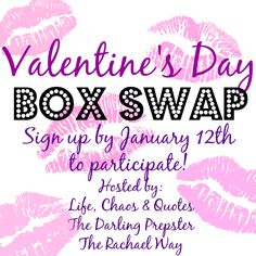 The Darling Prepster: Valentine's Day Box Swap 2014 Sign Up!