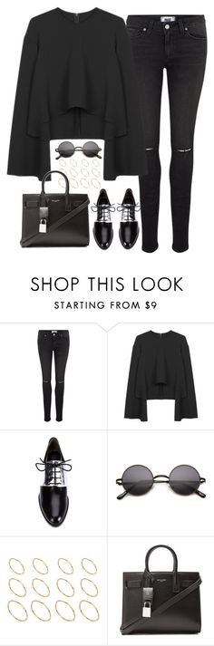 """Untitled#4087"" by fashionnfacts ❤ liked on Polyvore featuring Paige Denim, 3.1 Phillip Lim, ASOS, Yves Saint Laurent, women's clothing, women, female, woman, misses and juniors"