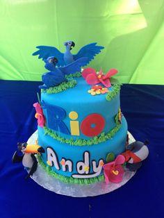Rio Birthday Cake, Rio Birthday Parties, Boys 1st Birthday Party Ideas, Themed Birthday Cakes, 1st Boy Birthday, Rio Cake, Rio Party, Novelty Cakes, Chocolate Treats