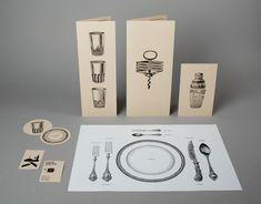 Branding for Café Kafka by Lo Siento Studio.