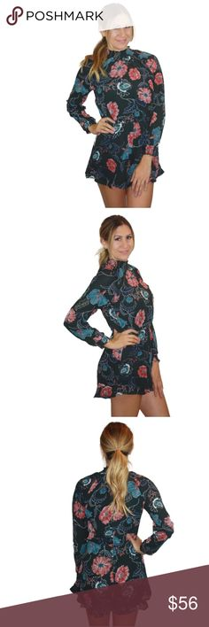 ASTR the Label Eva Floral Romper NWT. Astr Pants Jumpsuits & Rompers