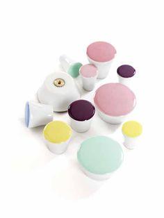 Knoppar Dots - mint i gruppen BABY & BARNAVDELNINGEN / Alla Barnartiklar hos HouseofHedda.com (CasaHookDotMint2 r)