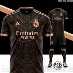 Sport Shirt Design, Sports Jersey Design, New T Shirt Design, Sports Graphic Design, Football Design, Sport T Shirt, Real Madrid Third Kit, Equipacion Real Madrid, Camisa Real Madrid