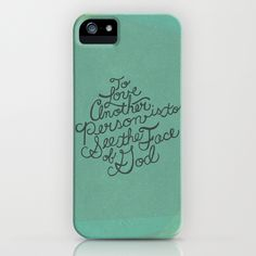 To Love Another... iPhone Case
