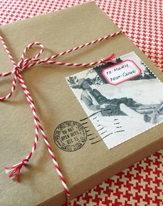 Just in time for holiday crafting and gifting, I\\\'ve designed a sheet of fun labels utilizing some winter-time images from my vintage photograph collection. Print the free PDF file to full-sheet label stock, trim out each label between the faux perforation lines and use as gift labels, book plates, on ...