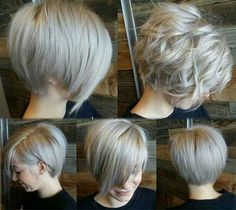 Back Views Short Hairstyles For Women 2015