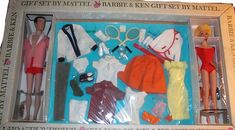 Barbie and Ken Tennis Set