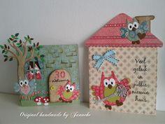 Handgemaakte cadeautjes, woonaccessoires en kaarten: Nieuw huis