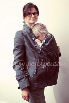 6f873f8903730 Babywearing jacket - Free pattern Patron gratuit - Veste de portage  Raincoat