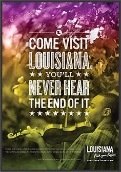 Come Visit Louisiana