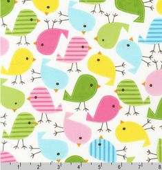 Hey, I found this really awesome Etsy listing at https://www.etsy.com/listing/117953494/spring-birdies-from-robert-kaufman