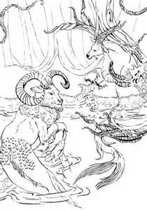 Beautiful Mythical Creatures Coloring Pages Gallery - Triamterene.us ...