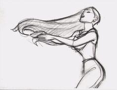 Pocahontas Concept Art - disney-princess Photo