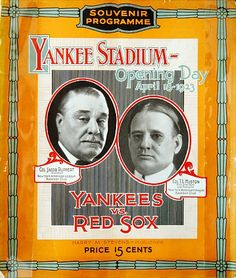Opening Day, April 18, 1923: The first-ever game at the old Yankee Stadium