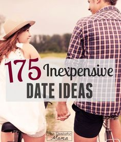 175 Cheap Date Ideas - tons of great ideas for busy parents. #SaveMoney, Saving Money Tips Save Money #SaveMoney