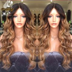 93.06$  Buy now - http://alilx3.worldwells.pw/go.php?t=32357748993 - 7A Lace Front Human Hair Wig Ombre Body Wave Wigs 1bT30 Glueless Lace Front Ombre Human Hair Wigs With Baby Hair For Black Women