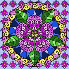 136 Fantastiche Immagini Su Mandala Colorati Mandala