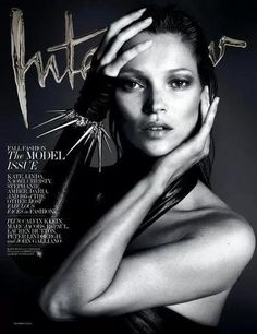 Cover Kate Moss, Naomi Campbell, Daria Werbowy, Amber Valletta, Stephanie Seymour, Christy Turlington and Linda Evangelista for INTERVIEW 2013